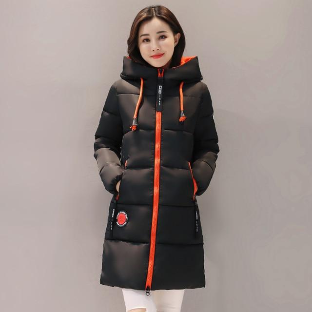 Mulheres Jaqueta de Inverno Com Capuz Quente Engrosse Algodão Acolchoado Mulheres Inverno Casaco Feminino Outwear Parka Casaco Feminina Inverno