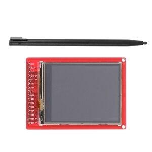 """Image 3 - 2.2 """"TFT LCD شاشة تعمل باللمس لوحة القطع وحدة ث/قلم اللمس لاردوينو"""