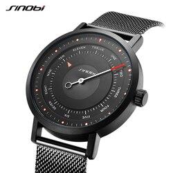 Watch men SINOBI brand rotating creative sports watch men's quartz watch men's casual military waterproof watch