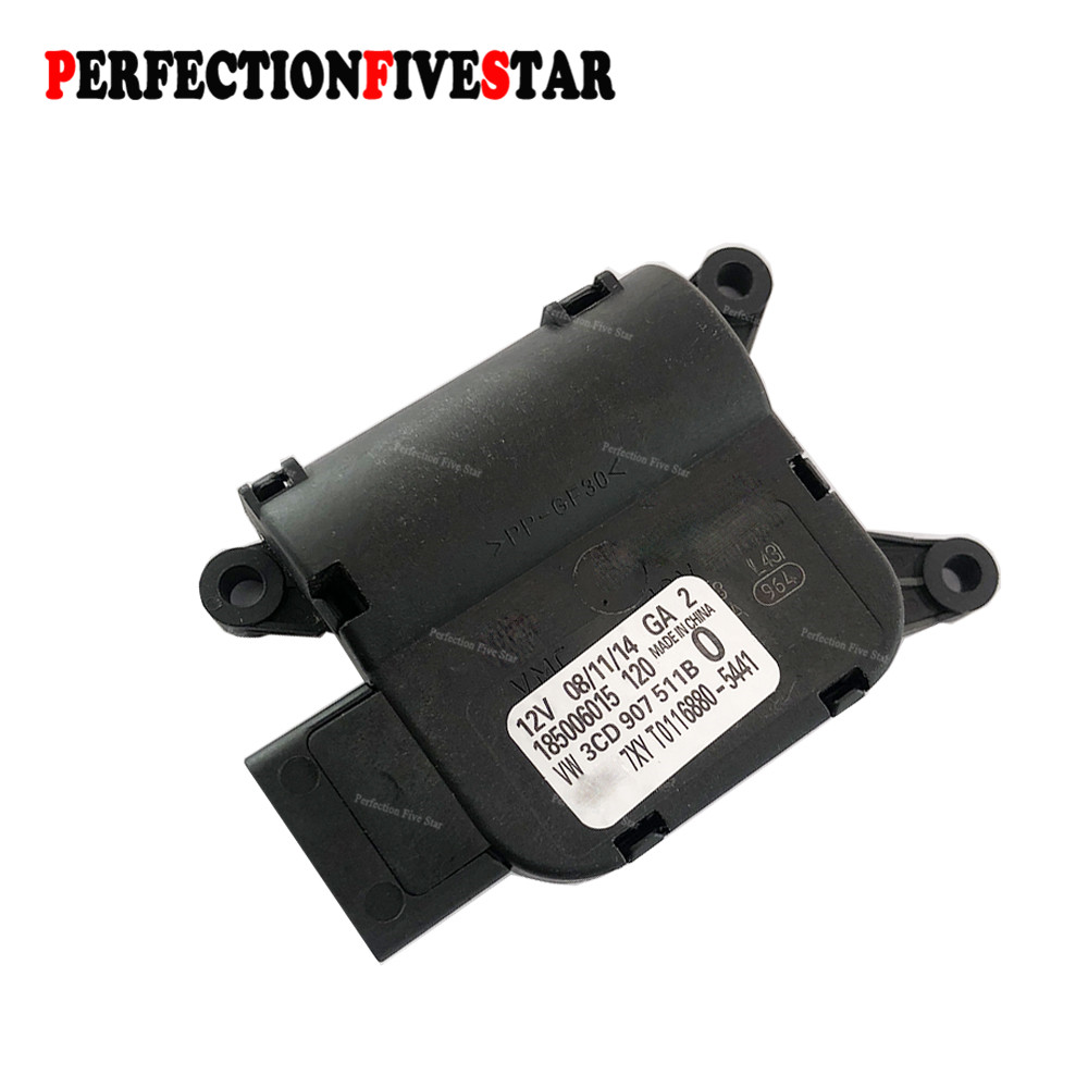 3CD907511B AC Temperature Adjust Valve Evaporation Tank Motor For Volkswagen Passat B6 B7 3C0 907 511B car data can bus gateway diagnosis interface for volkswagen vw passat b6 cc 3c0 907 530 l
