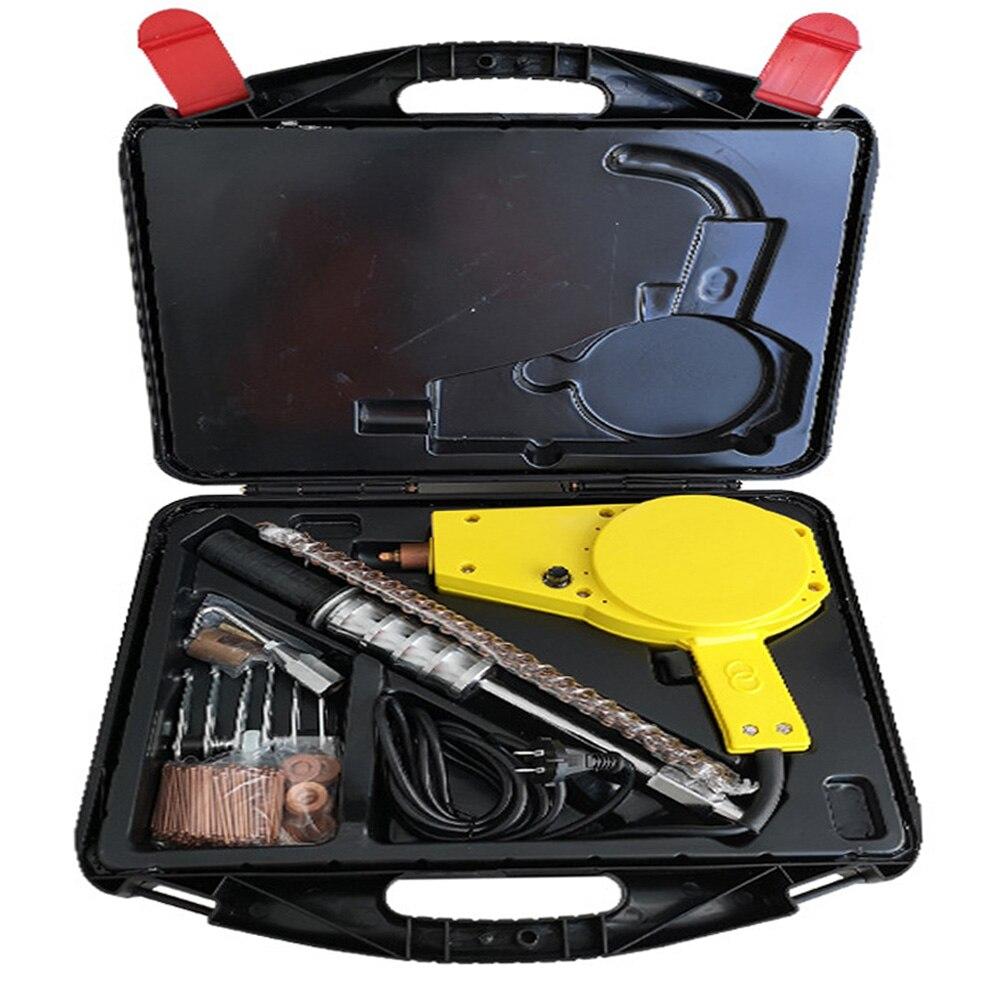 WHDZ Carro Reparação Dent Extrator Stud Soldador Mini Sistema de Auto Máquina De Solda Spotter Correção Braçadeira Martelo Ferramenta de Remoção de Reparação de Automóveis kit