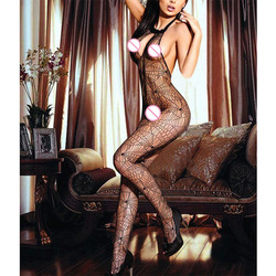 sexy costumes For Women Hot Temptation Mesh Spider Bodysuit Hollow Fishing Net Sleeveless Open Crotch Body Stocking Lingerie