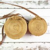Bali Island Handmade Rattan Bow Circular Straw Woven