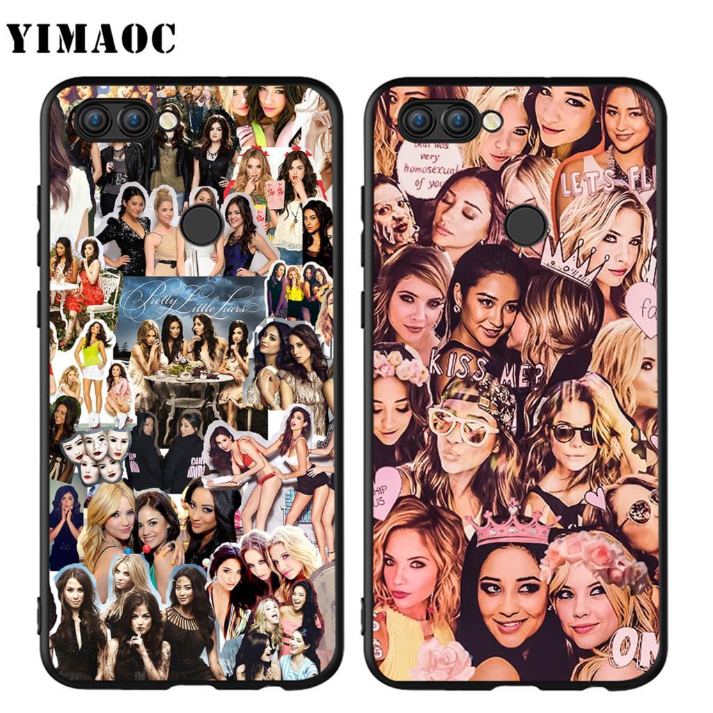 YIMAOC Милые Обманщицы Spencer Hannah силиконовый чехол для huawei Honor Коврики Y6 6A 8 9 10 P8 P9 P10 p20 P Smart Lite Pro 2017