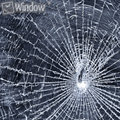 2mil 1.52x10 m resistentes a roturas de vidrio película película de seguridad para el hogar coche de edificios comerciales