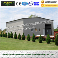 Metal garage and steel sheds from China steel structure fabrication