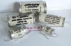 Denmark Jensen oil-immersed copper porcelain tube 0.01UF-0.47uf/630v audio capacitor free shipping