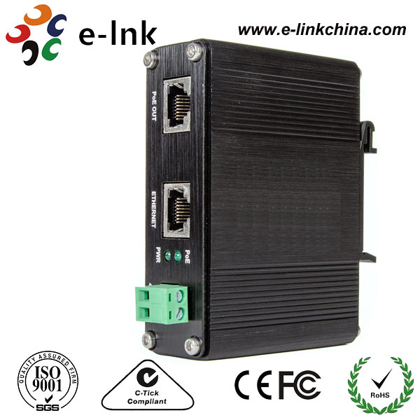 Hardended 10/100/1000M 95w POE Injector with 48V OutputHardended 10/100/1000M 95w POE Injector with 48V Output