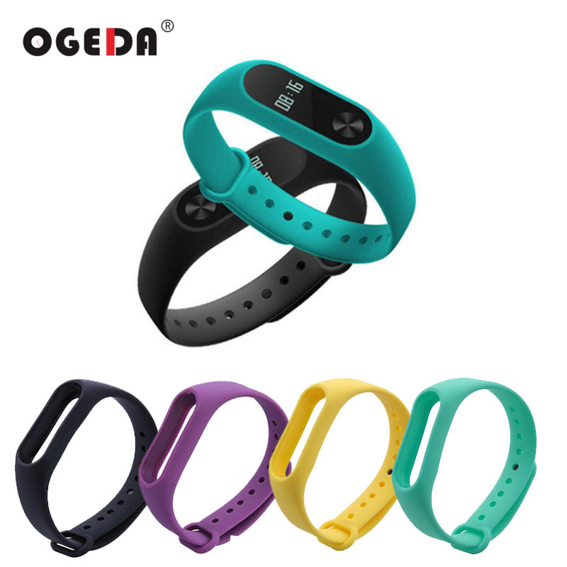 1 pcs Replace Strap for Mi Band 2 Wrist Strap Belt Silicone Colorful Wristband Smart Bracelet for Xiaomi Mi Band 2 Accessories for xiaomi mi band 2 replace wrist strap