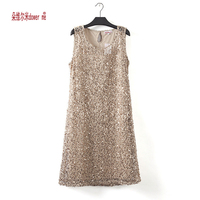NEW Fashion Summer Women Dress O Neck Sleeveless Slim Gray Dresses Casual Wild Mini Dress With