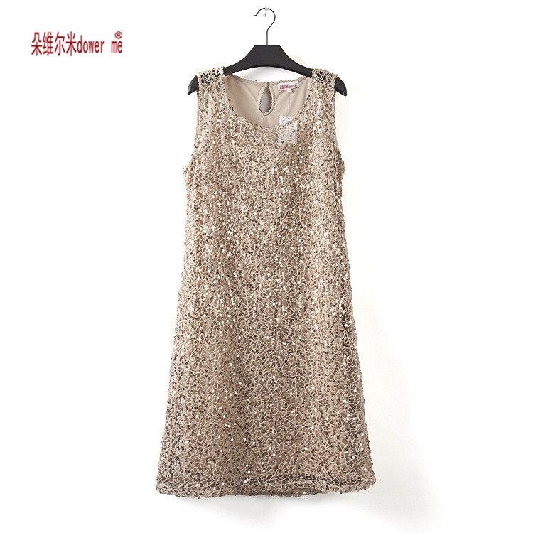 Elástico nuevas mujeres summer dress vestidos sin mangas gris ocasional salvaje