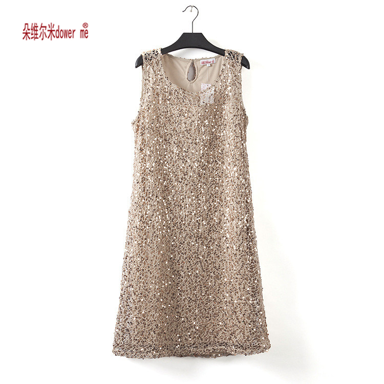 stretchable new fashion women summer dress sleeveless gray casual dresses wild plus size party evening elegant dress vestidos
