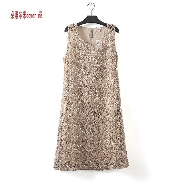 stretchable new fashion women summer dress sleeveless