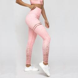 NORMOV Новый Лидер продаж для женщин золото печати леггинсы для без прозрачных упражнений фитнес леггинсы брюки для фитнеса ж