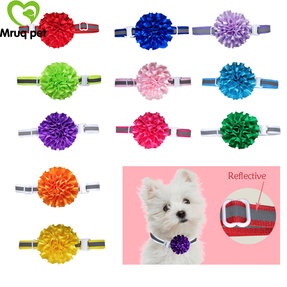 40pcs Cute Valentine's Day Pet Dog Cat Bow Ties Adjustable