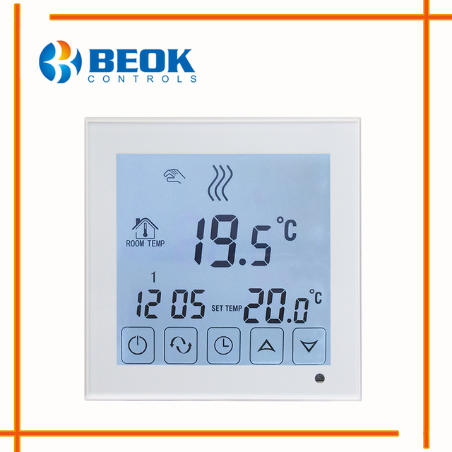BEOK BOT323 Wall Mounted Programmable Gas Boiler Heating Thermostats ...