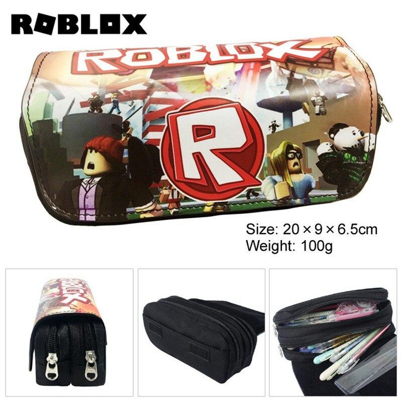 Anime Boku no Hero Academia Pencil Case Make up Cosmetic Bag Cartoon Battle  Royale Student Multi-function flip Stationery Bag