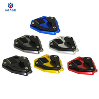 Waase Motorcycle Kickstand Foot Side Stand Extension Pad Support Plate For Honda CRF1000L Africa Twin ABS