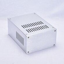 BZ1610A серебро все алюминиевые теплоотвод Шасси Усилитель чехол Корпус электропитания DIY box 168 мм* 100 мм* 229 мм