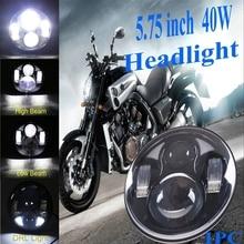 5.75″ LED Projector Headlight W/ DRL for Harley Night Rod Special VRSCD VRSCDX
