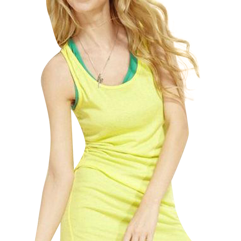 New Solid Slim Women tank Tops Summer Sleeveless Jersey Cotton Tanks Camis