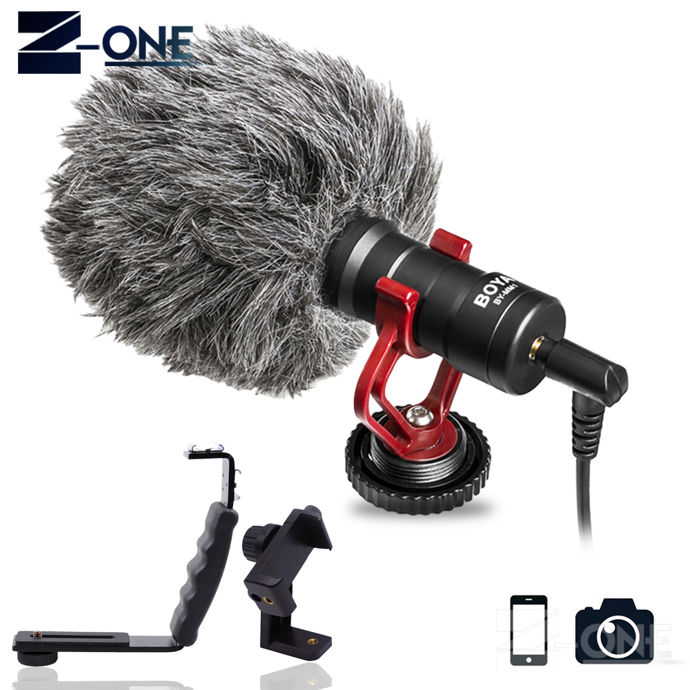 все цены на BOYA BY-MM1 Compact On-Camera Video Microphone Youtube Vlogging Recording Mic for iPhone Nikon Canon DSLR Smooth Q Feiyu Gimbal онлайн