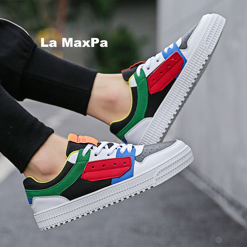 eef03616aa658 Designer Sneakers Men Vulcanized shoes Force One thick Flat running shoes  men Trainers sandals sport zapatillas hombre deportiva-in Running Shoes  from ...