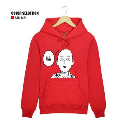 Anime Game ONE PUNCH MAN Unisex Long Sleeve Party font b Sport b font Jackets Cosplay
