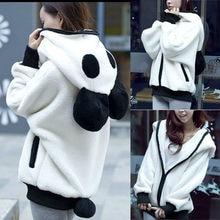 e3eae8fa77e6 2018 Одежда для беременных вельветовый свитер с милыми ушками панды теплые  толстовки укороченный топ hooddedsweatshirts sudadera
