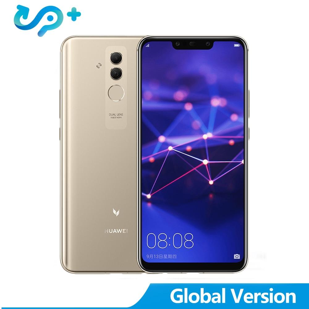 Huawei Maimang 7 Mate 20 Lite 6.3 pouces 24MP quatre AI caméra double SIM 6 GB 64 GB 9 V/2A chargeur rapide 3750 mAh batterie Smartphone