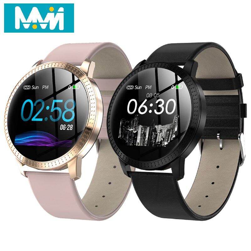 MMN CF18 Smart bracelet fitness tracker Message Fitness Waterproof OLED Touch Screen Women Men watch