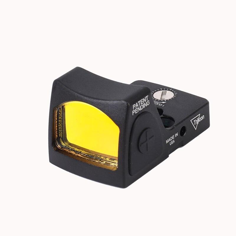 Mini Micro Red Dot Portée Glock/Pistolet Reflex Holographique Sites Portée Optique Chasse avec Rail de Tisserand