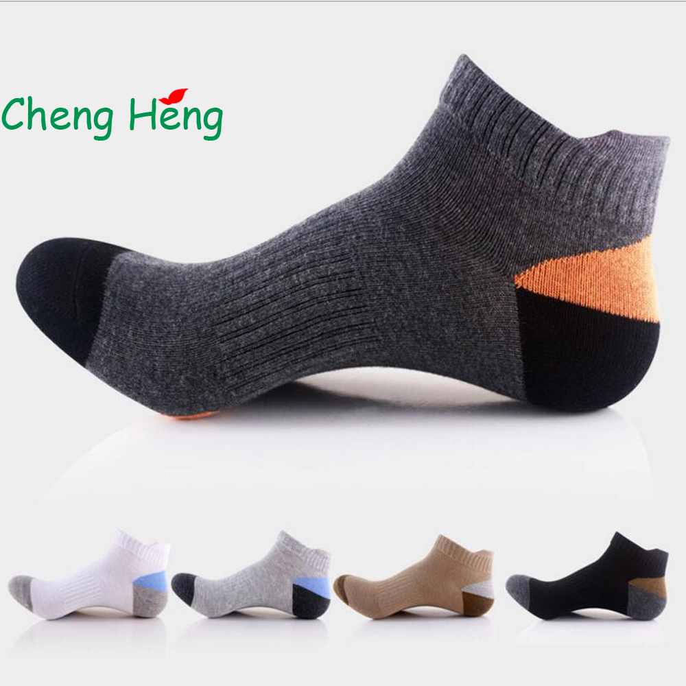 CHENG HENG 20 Pairs / Bag Hot High-Grade New Mens Cotton Socks Duck Tongue Casual Socks Fashion Breathable Socks 5 Color