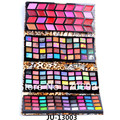 Shadow Eye shadow Palette + Lipstick 1pcs 148 color Wet Shadow Eyeshadow Makeup Kit JU-13001 2 5