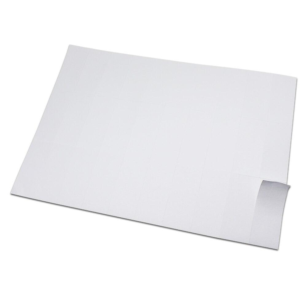Favoritos Matte White A4 Kraft Paper Self Adhesive Square Print Label  GK05
