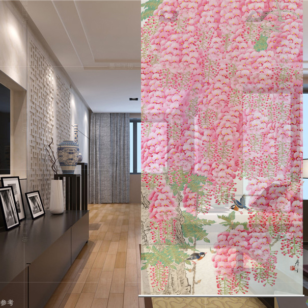 Customizable Biombo Hanging wall panels entrance curtain soft ...