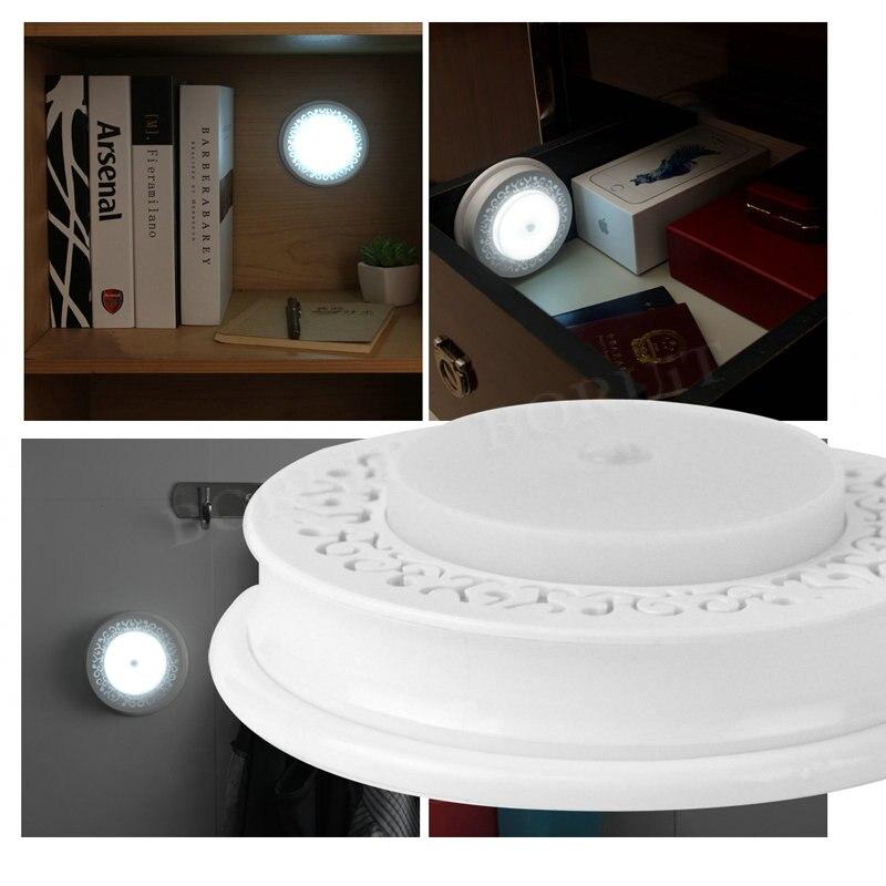 BORUiT Smart Light Control Motion Sensor LED Cabinet Light for Kitchen Bedroom Wardrobe Closet Light Corridor Stair Wall Lamp цена