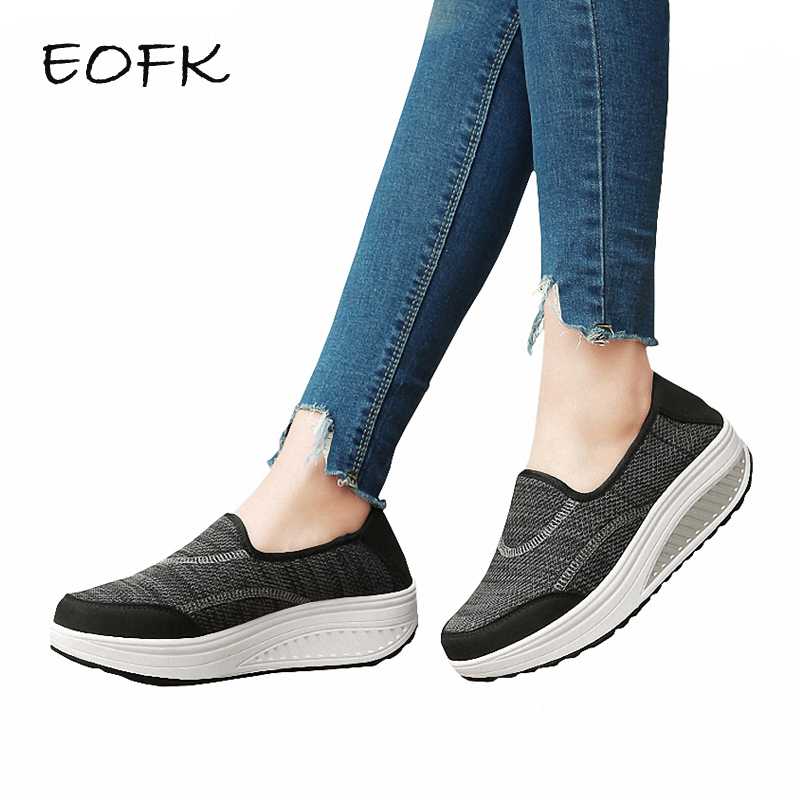 EOFK Women Flat Platform Shoes Patchwork Fabric Womens Loafers Flats Shoes Woman Comfortable Womens Shoes Casual Female ShoeEOFK Women Flat Platform Shoes Patchwork Fabric Womens Loafers Flats Shoes Woman Comfortable Womens Shoes Casual Female Shoe