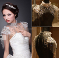 2014 New Arrival Rhinestone Bridal lace shoulder chain wedding shoulder necklace jewelry Party necklace