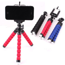 Mobile Phone Stand Car Phone Holder Flexible octopus Tripod Bracket Digital Camera Mini Portable Flexible Desktop Stent