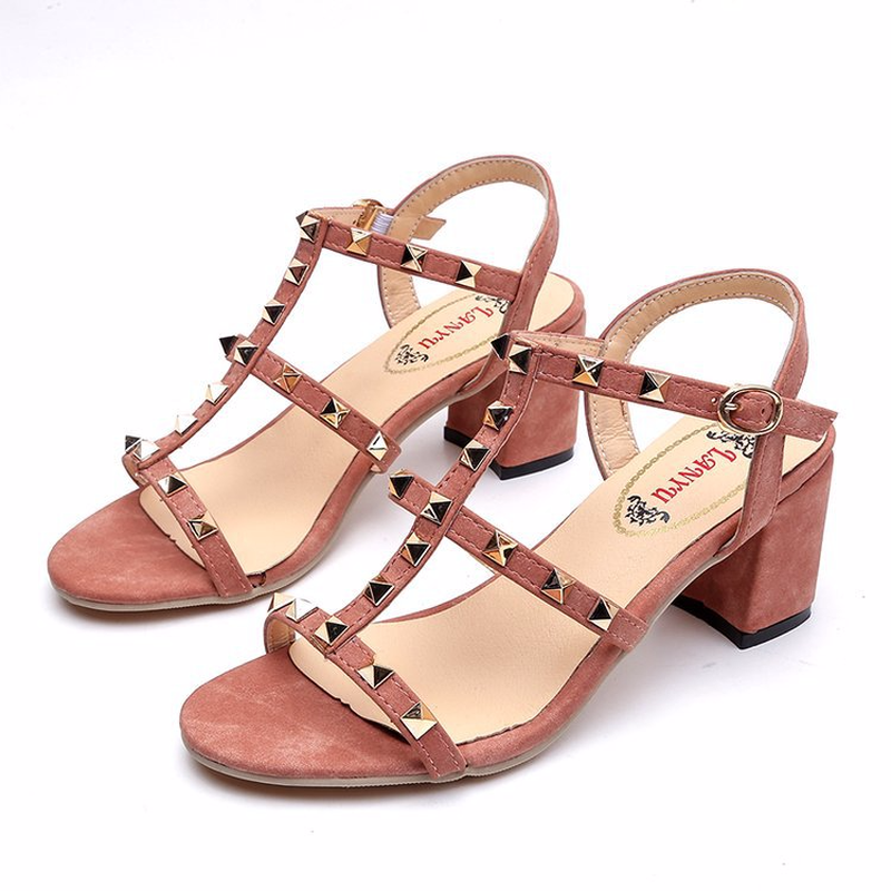 125a2383dc 2018-Summer-New-Arrived-Sexy-Rivets-Hollow-Design-Women-Sandals-Comfort- Thick-High-Heel-Peep-Toe.jpg
