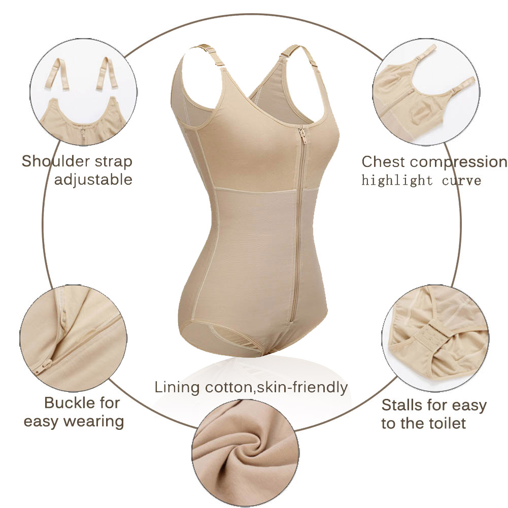Lover Beauty Slimming Shapewear Firm Control Tummy Body Shaper Hook Waist Shaper Seamless Underwear Waist Trainer Reductora Faja in Bodysuits from Underwear Sleepwears