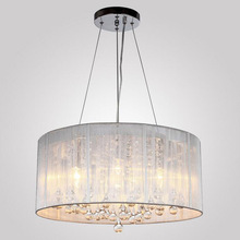 Современные тканевые светодиодные люстры, светодиодные лампы, новая светодиодная Люстра для гостиной, высокое качество, E14, светодиодный светильник, люстра Z10