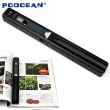 Handyscan escáner portátil 900 DPI JPG/PDF Formato A4 Documento Libro Iscan escáner de Mano Inalámbrico Mini A4 Exploración
