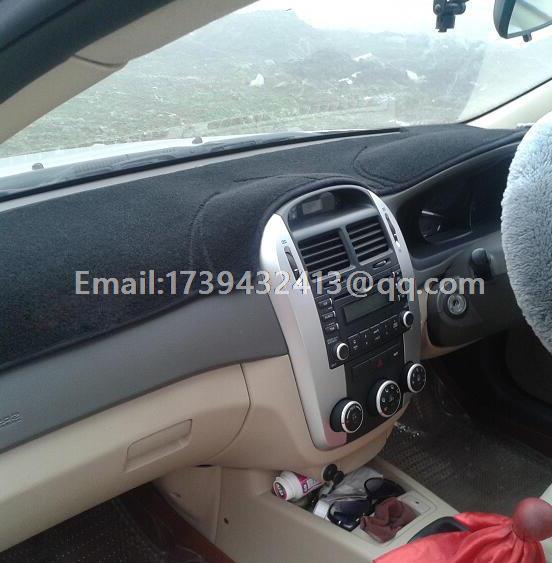 DashMat Original Dashboard Cover Kia Sephia 72001-00-76 Premium Carpet, Red