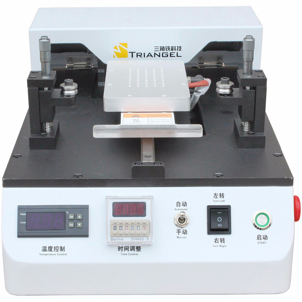 Triangel CP-203 Halbautomatische <font><b>LCD</b></font> Separator Max 7 zoll <font><b>LCD</b></font> Touchscreen Glas Trennmaschine image