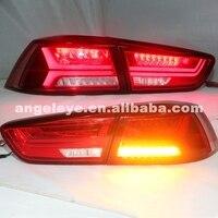 2008 2013 Lancer Exceed светодиодный задний фонарь для Mitsubishi красного цвета