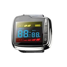 Low level laser therapy wrist watch blood pressure monitor diabetes treatment device