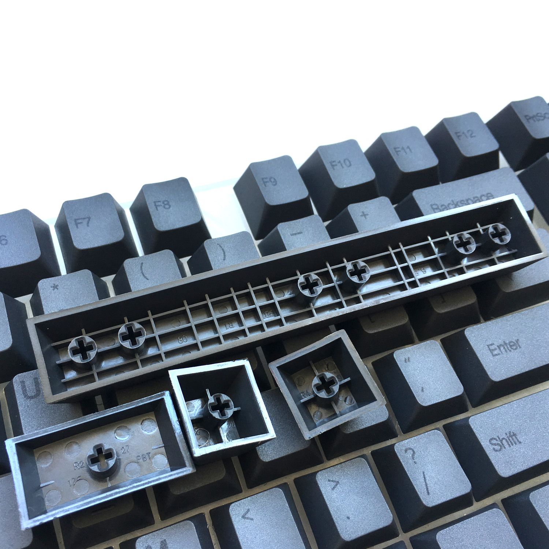 שנאים וספקי כוח PBT 87 keycaps סט דיי תת שרי MX מפתח Caps הדפס למעלה / בפרופיל דובדבן / ANSI פריסה עבור TKL 87 MX מתגים מקלדת מכנית (5)