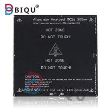 BIQU MK2A Aluminum Heatbed Hot Plate 300*300*3mm RepRap RAMPS 1.4 For Prusa & Mendel For 3D Printer MK2B